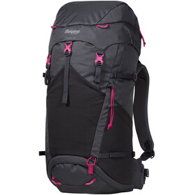 Bergans Birkebeiner 40 Backpack SolidDkGrey/SolidCharcoal/Hot Pink